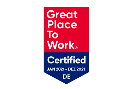 Great Place To Work Zertifikat 2021